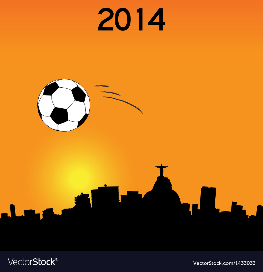 World cup in rio vector | Price: 1 Credit (USD $1)