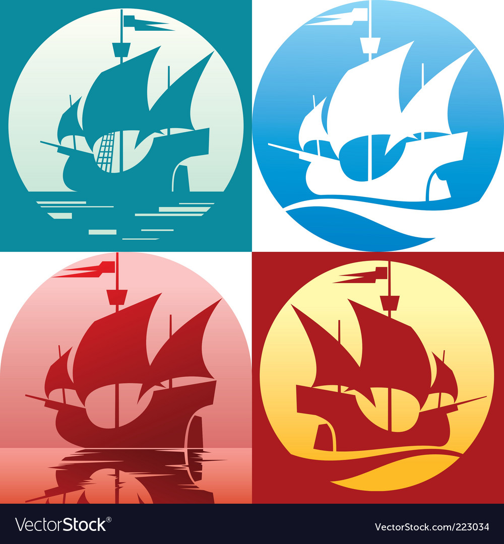 Caravel santamaria vector | Price: 1 Credit (USD $1)