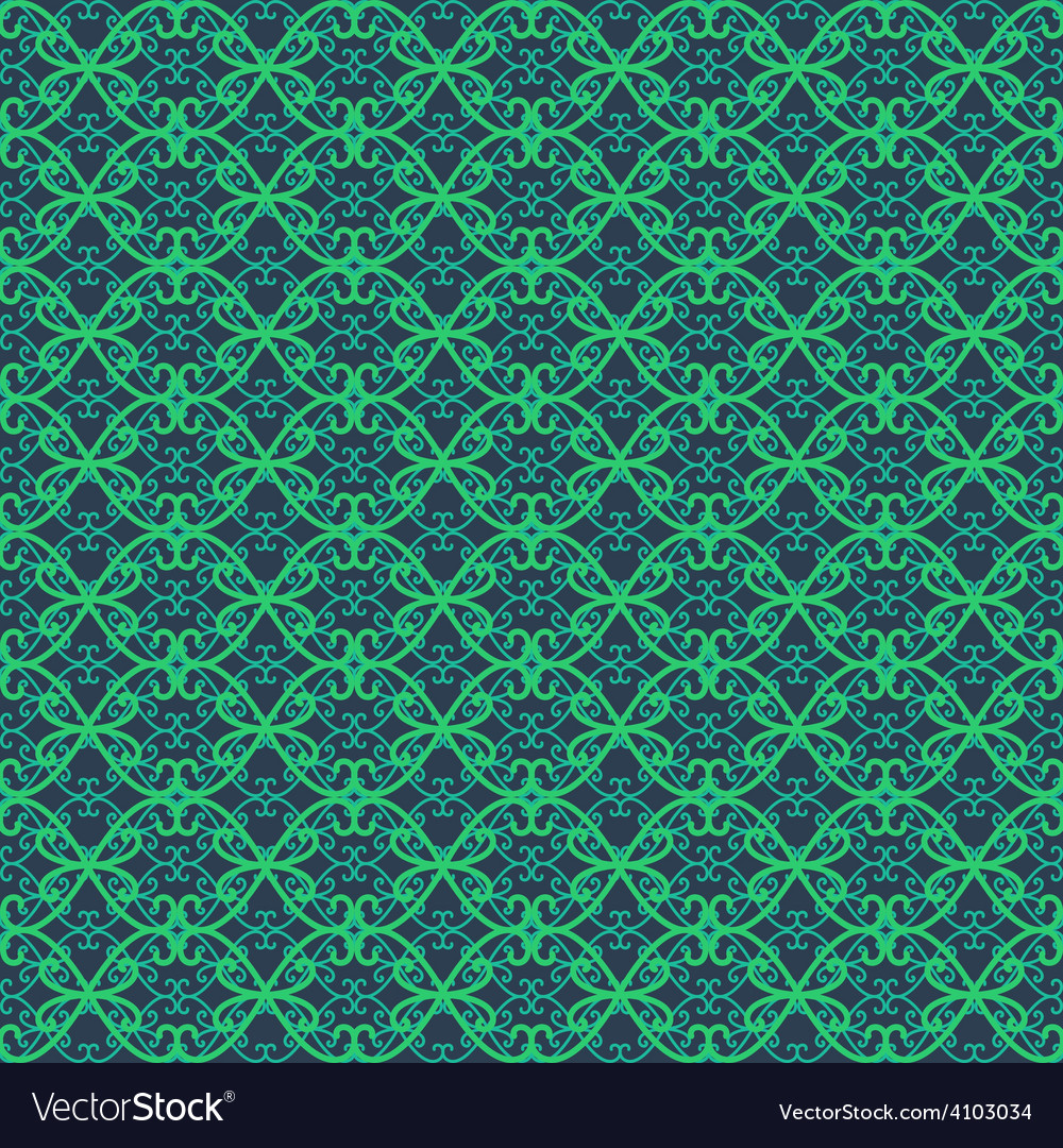 Lace seamless decorative retro pattern made of vector | Price: 1 Credit (USD $1)
