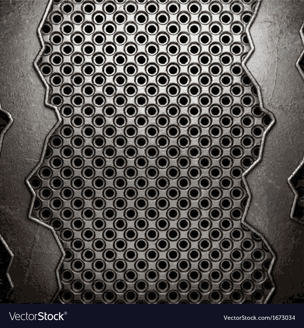 Metal on wall background vector | Price: 1 Credit (USD $1)