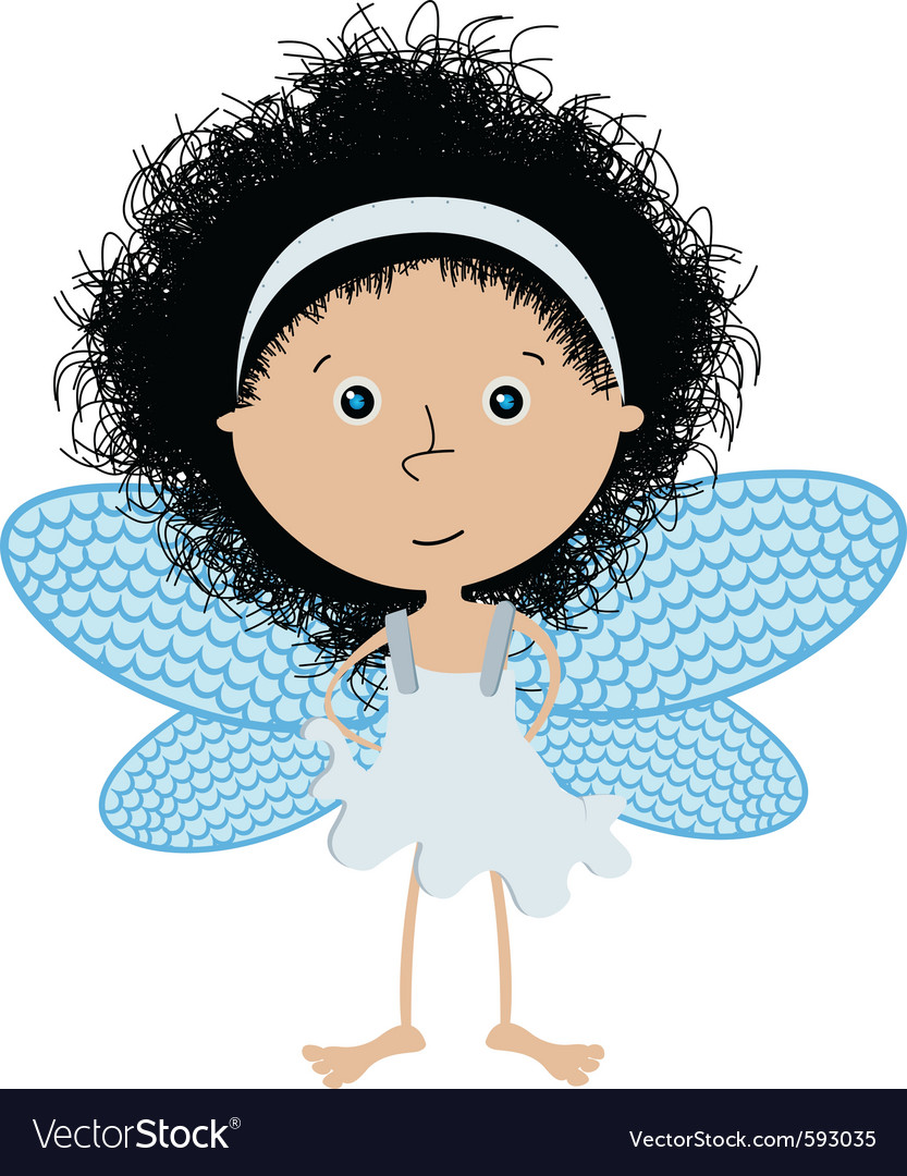 Cute little angel vector | Price: 1 Credit (USD $1)