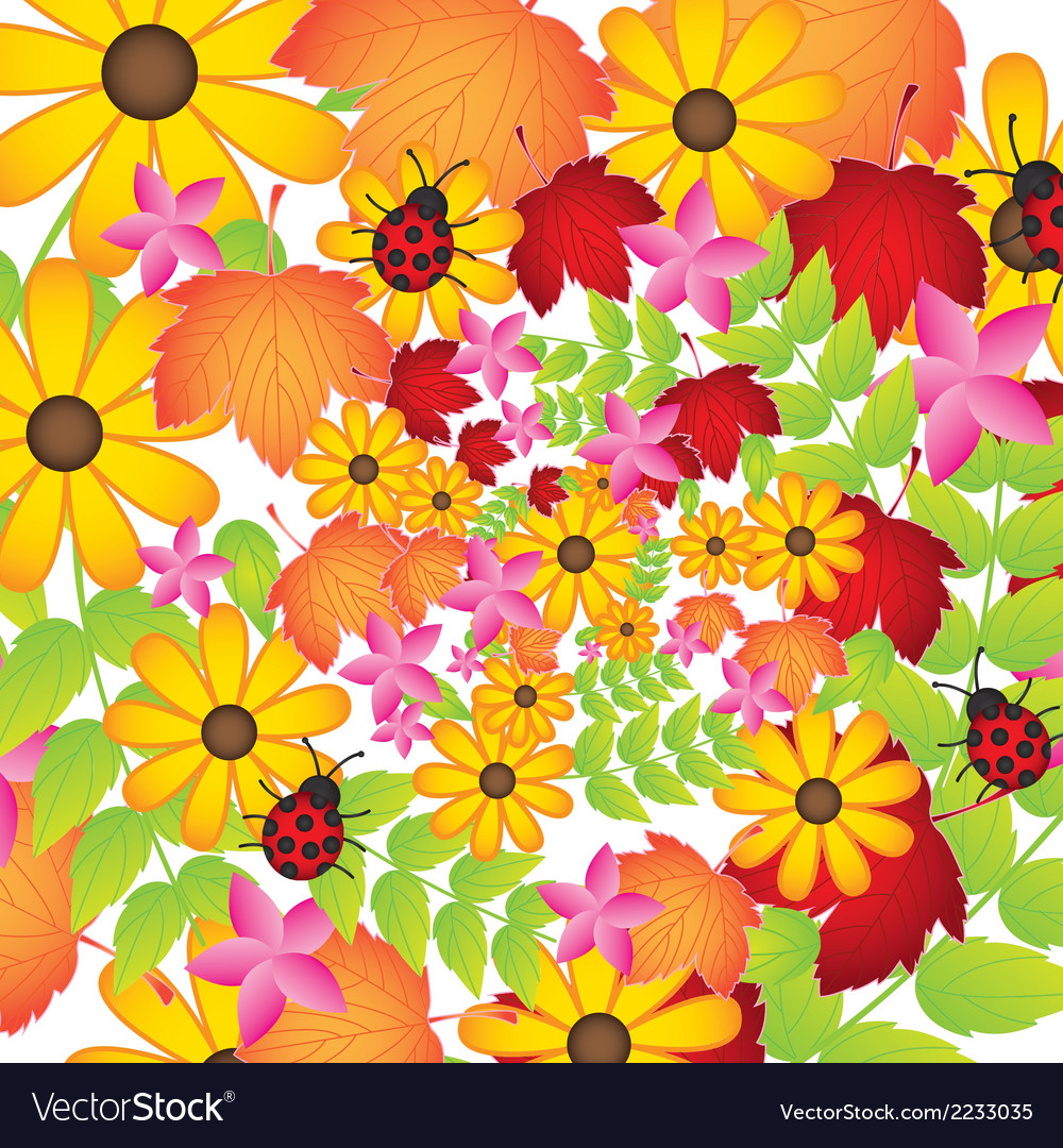 Garden vector | Price: 1 Credit (USD $1)