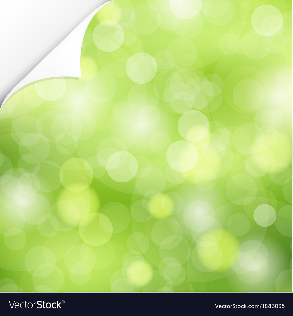 Nature background with corner vector | Price: 1 Credit (USD $1)