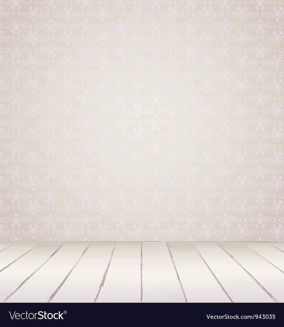 White vintage interior vector | Price: 1 Credit (USD $1)
