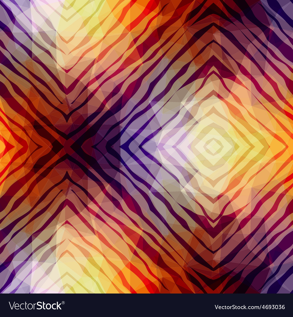 Abstract exotic pattern on geometric background vector | Price: 1 Credit (USD $1)
