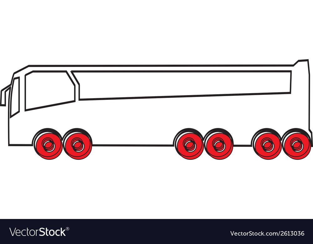 Simple car design vector | Price: 1 Credit (USD $1)