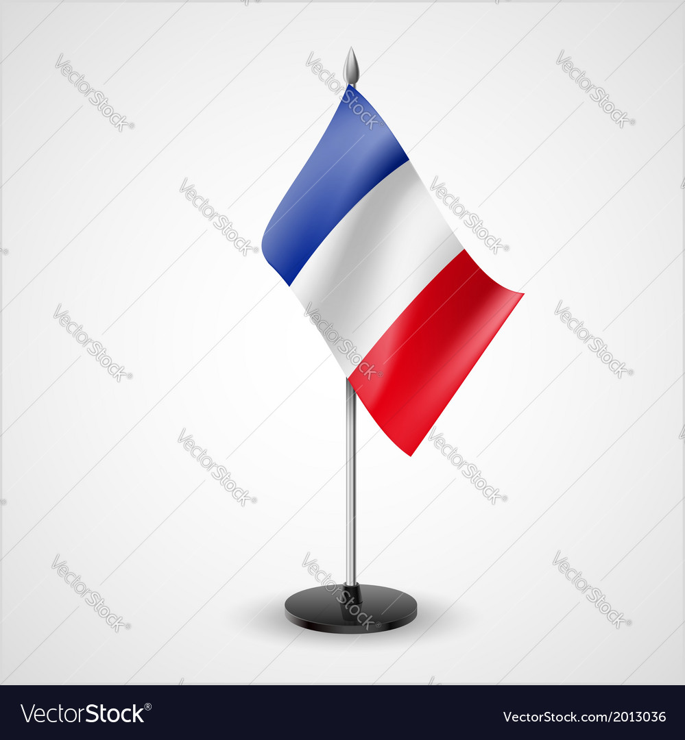 Table flag of france vector   Price: 1 Credit (USD $1)
