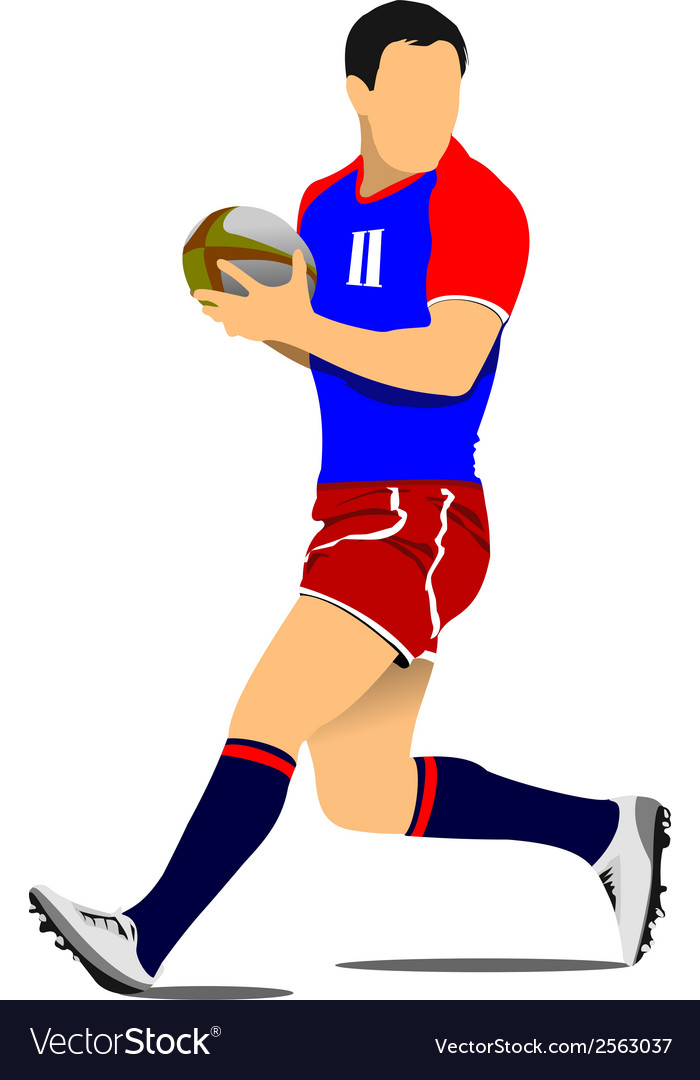 Al 1104 rugby 01 vector | Price: 1 Credit (USD $1)