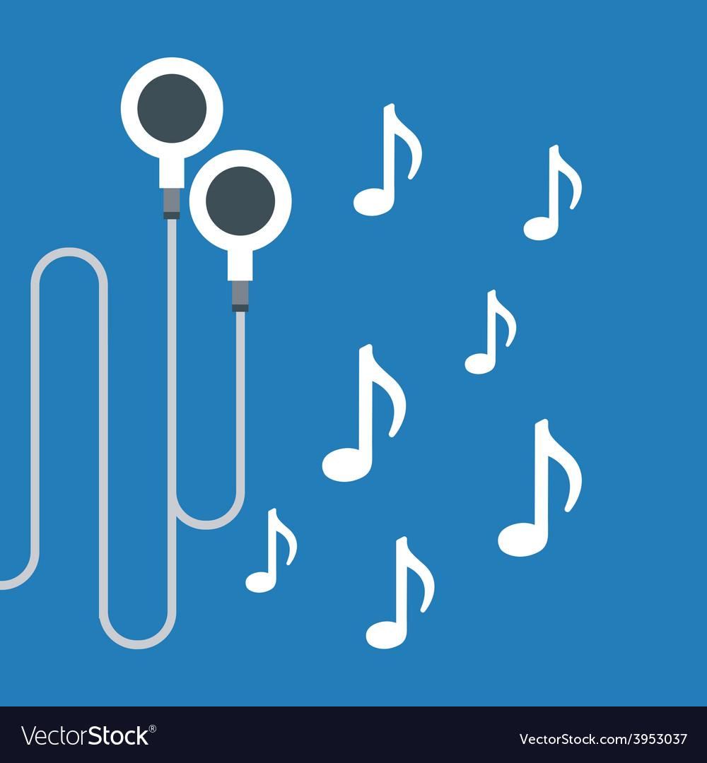 Music headphones vector | Price: 1 Credit (USD $1)