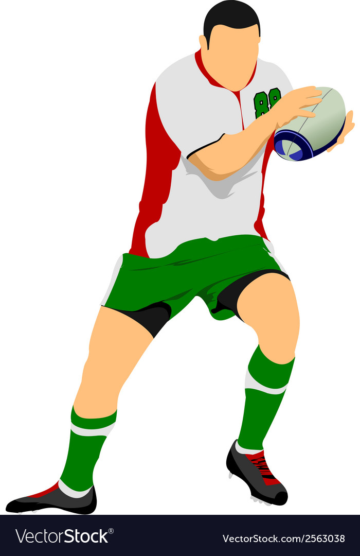 Al 1104 rugby 02 vector | Price: 1 Credit (USD $1)