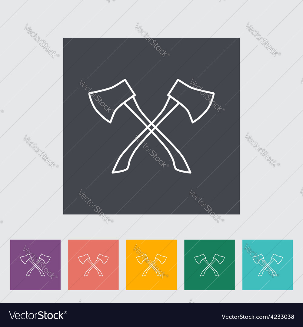 Axe icon vector | Price: 1 Credit (USD $1)