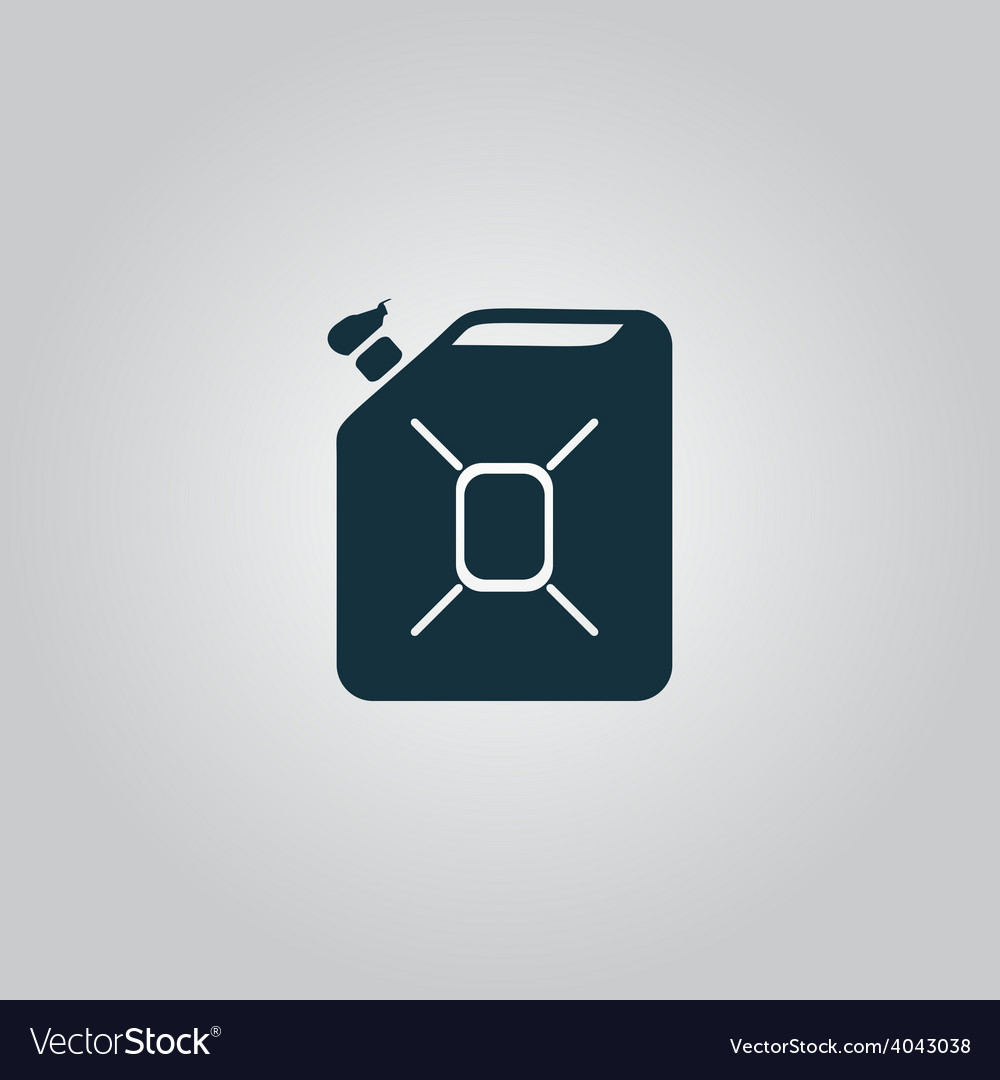Jerrycan oil icon vector | Price: 1 Credit (USD $1)