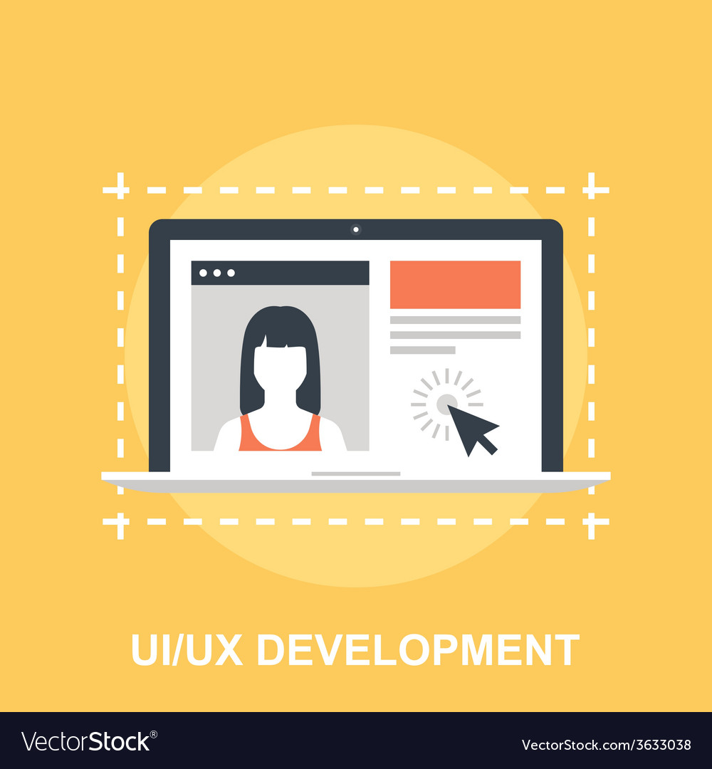 Ui ux development vector | Price: 1 Credit (USD $1)