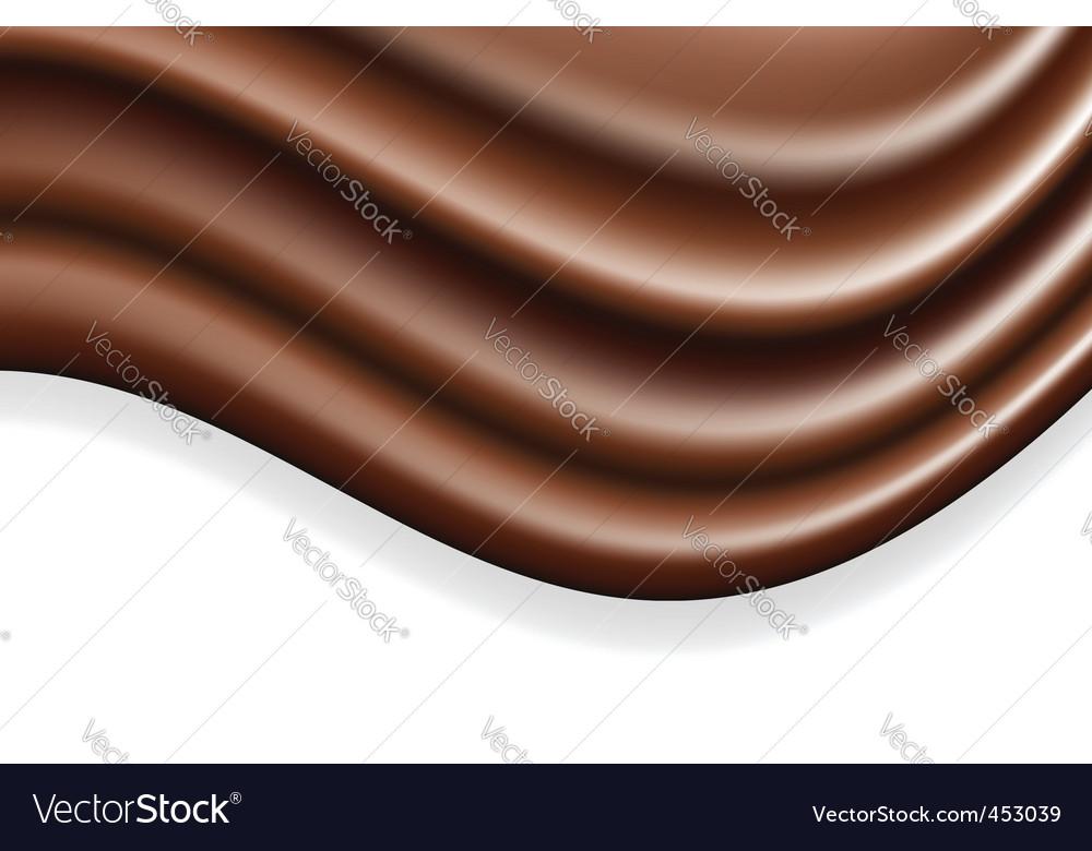 Chocolate wave vector | Price: 1 Credit (USD $1)