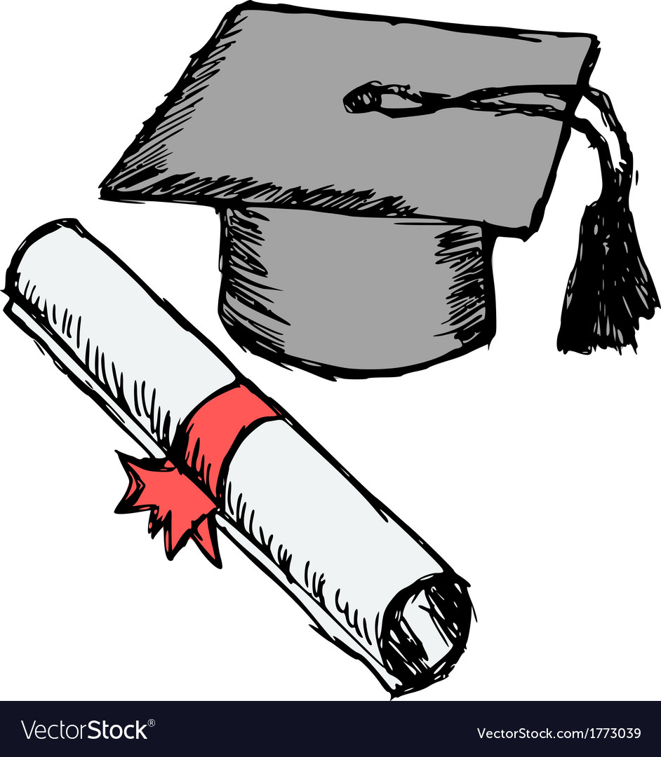 Diploma vector | Price: 1 Credit (USD $1)