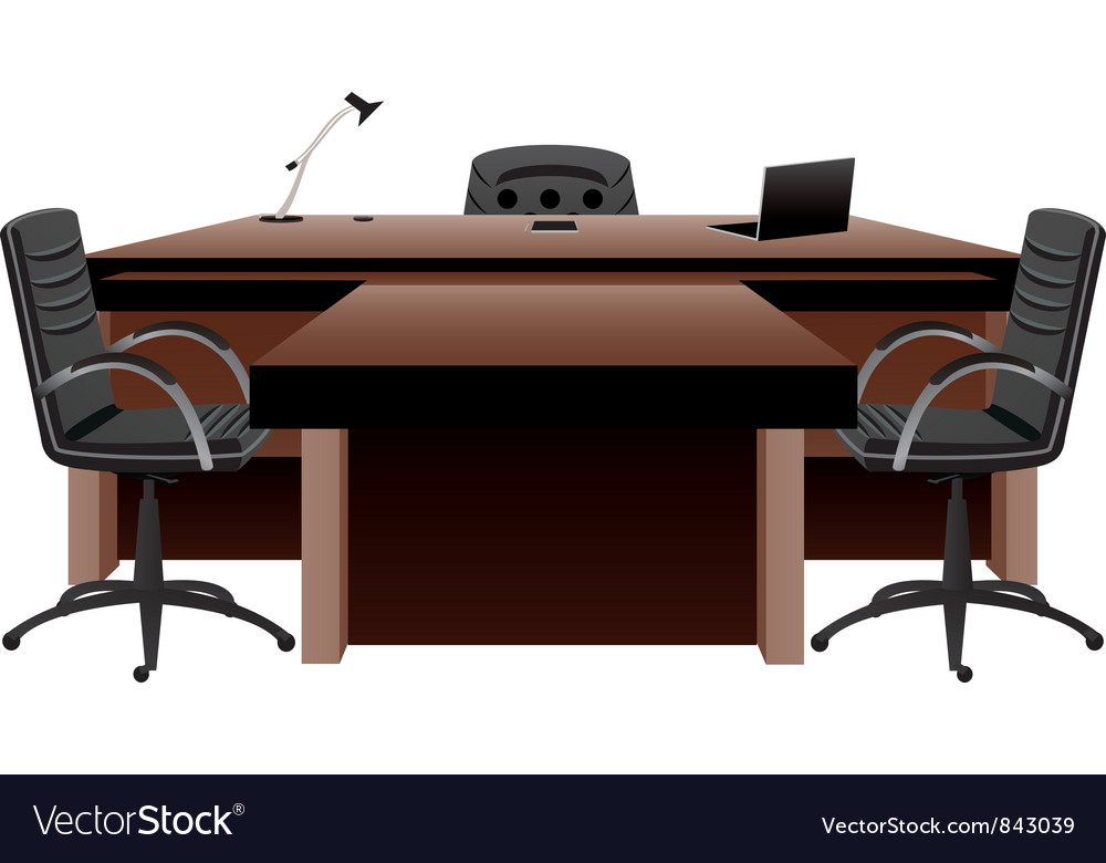 Directors office vector | Price: 3 Credit (USD $3)