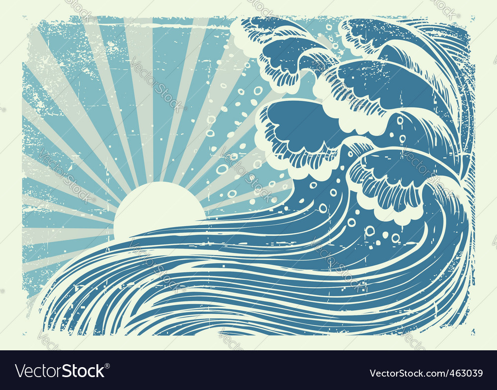 Storm poster vector | Price: 1 Credit (USD $1)