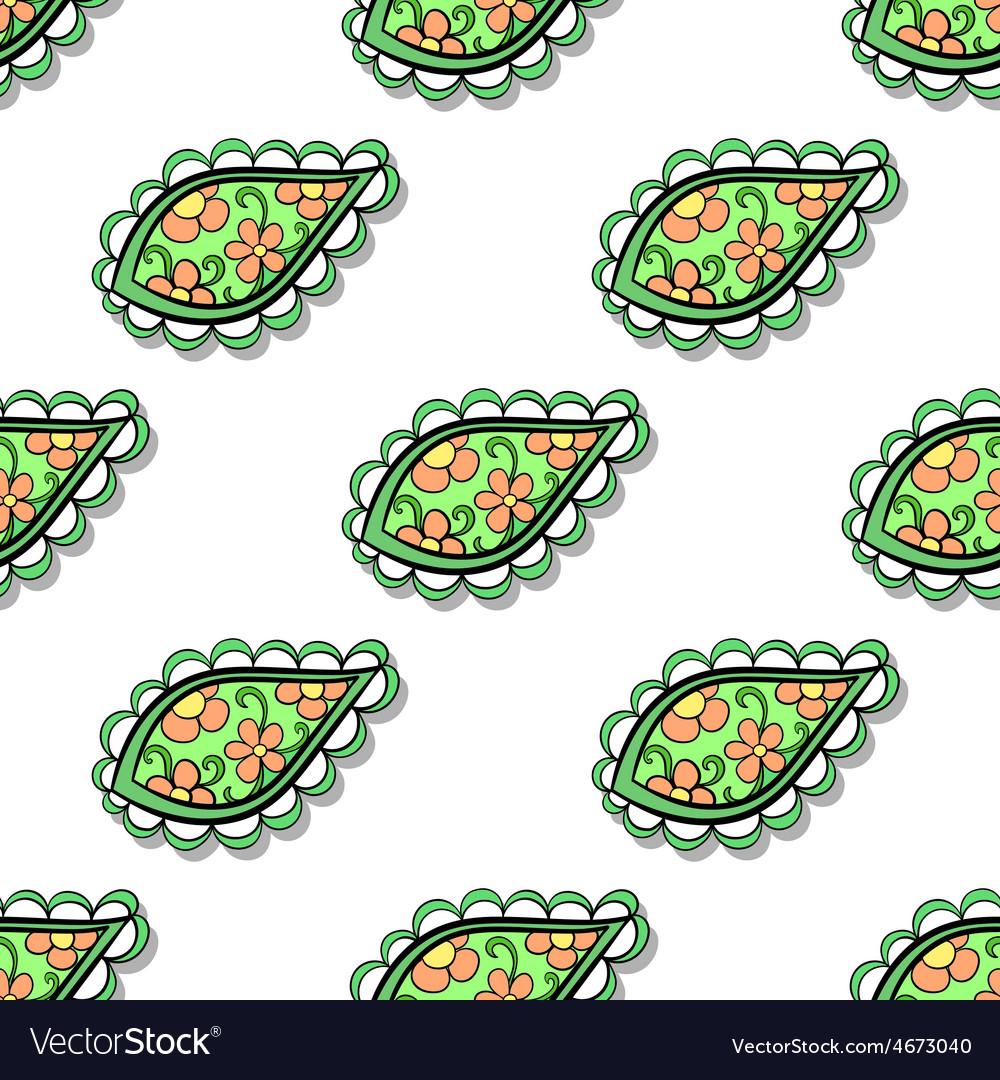 Leavespattern vector | Price: 1 Credit (USD $1)