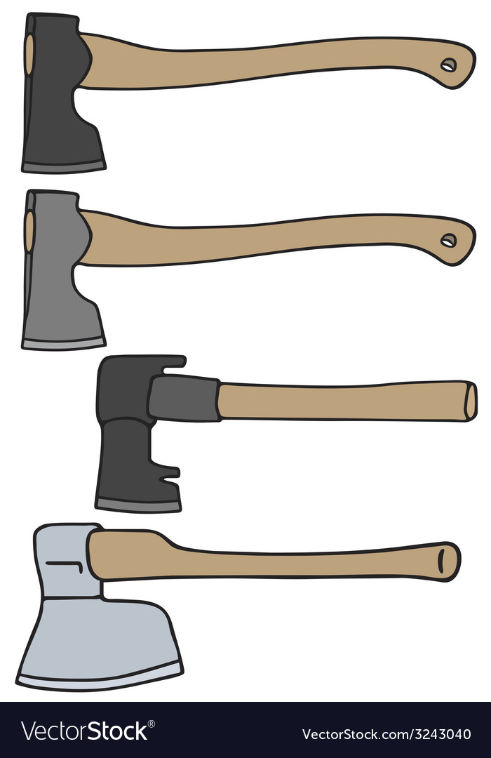 Old axes vector | Price: 1 Credit (USD $1)