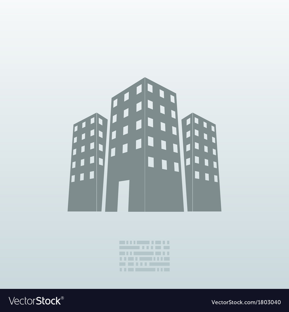 Real estate icon background eps10 vector | Price: 1 Credit (USD $1)