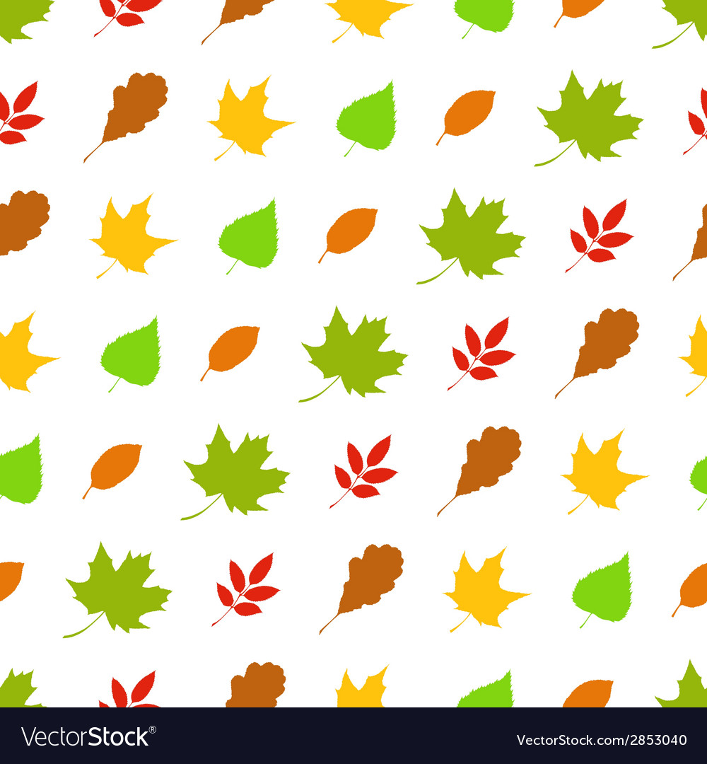 Seamless autumn pattern vector   Price: 1 Credit (USD $1)