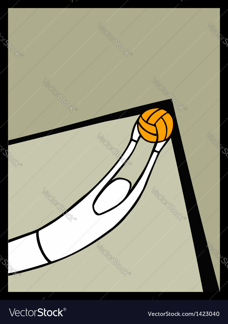 Soccer goalkeeper catching a shot vector | Price: 1 Credit (USD $1)