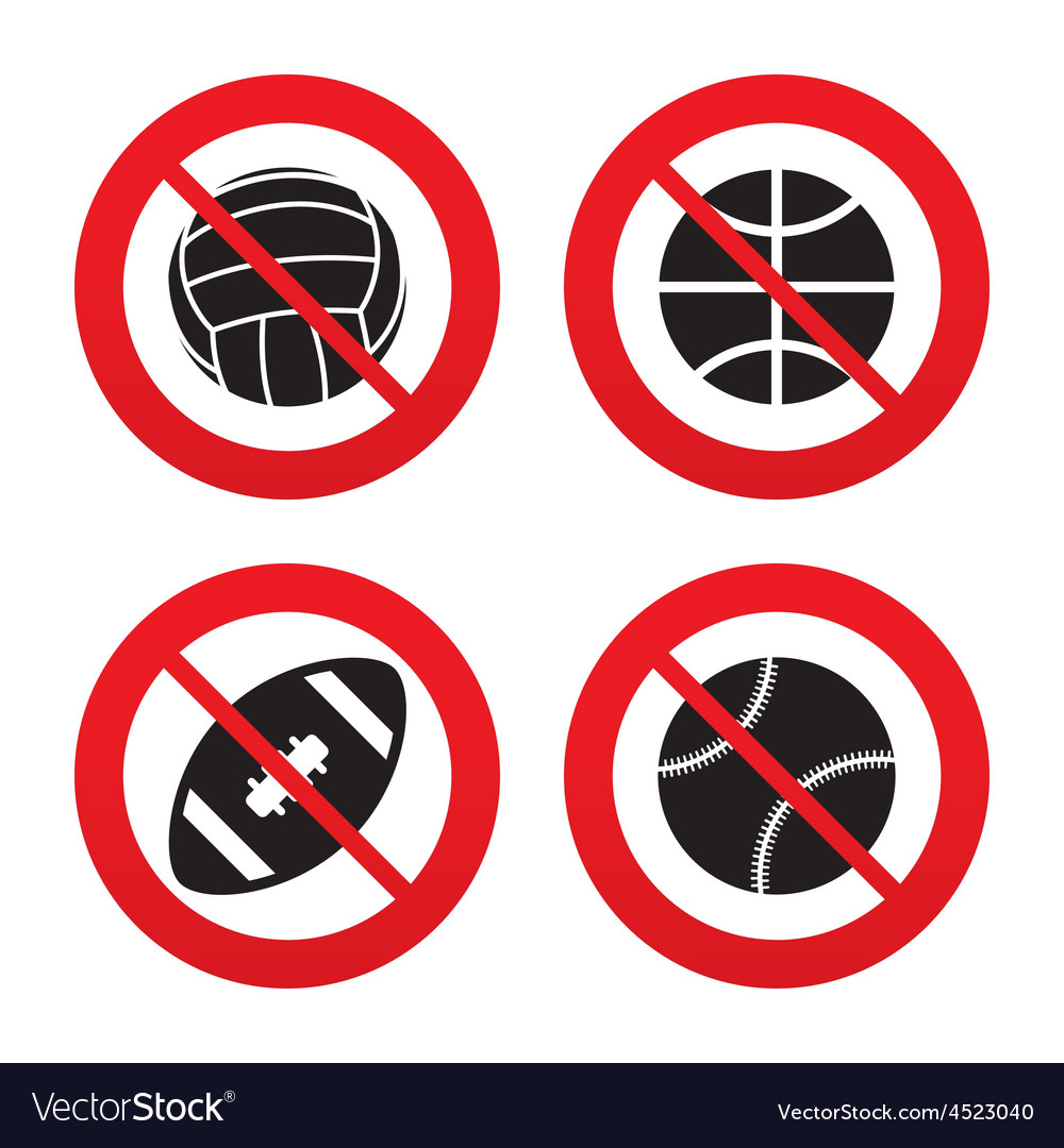 Sport balls volleyball basketball baseball vector | Price: 1 Credit (USD $1)