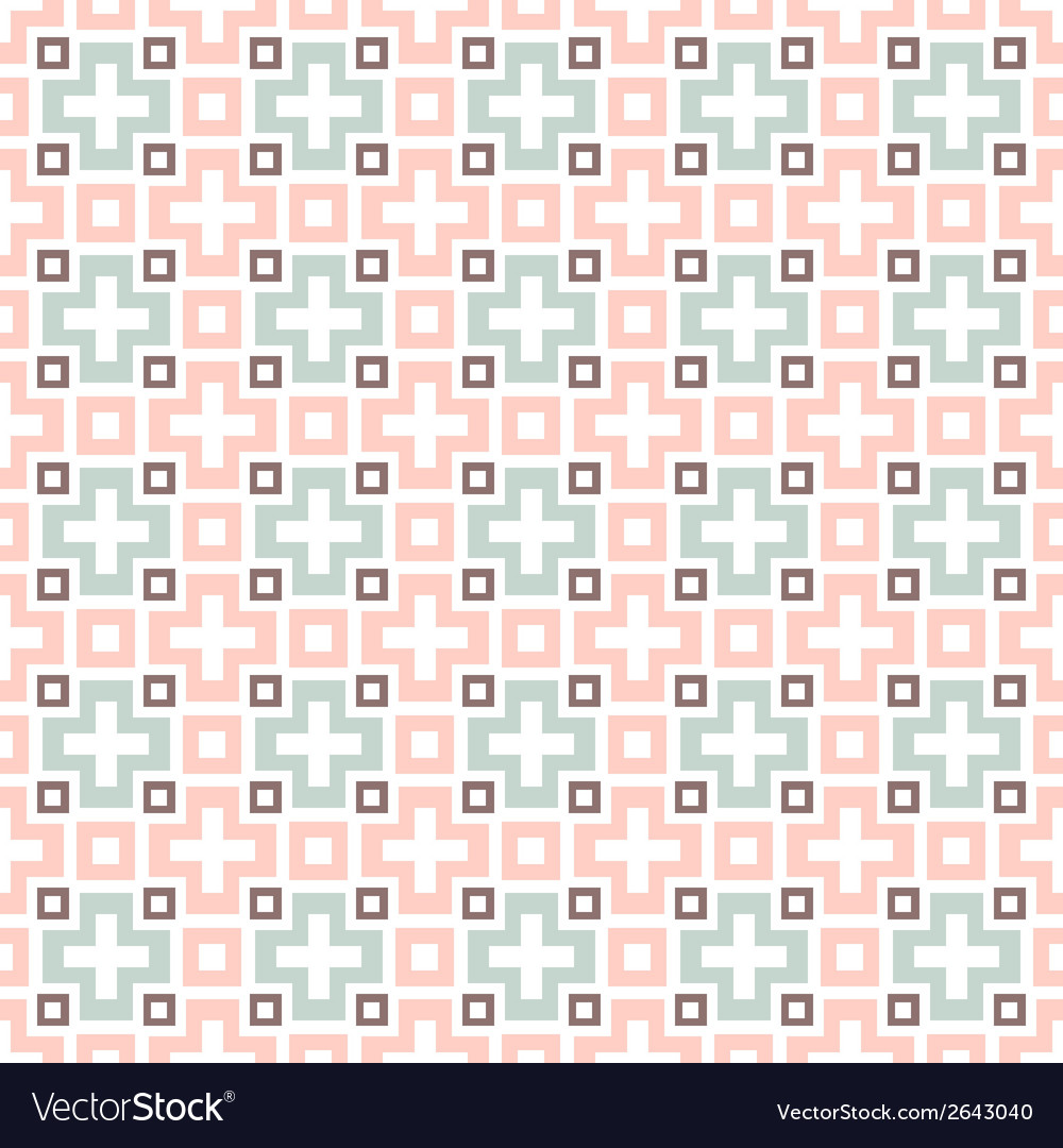 Tribal seamless pattern tiling endless texture can vector | Price: 1 Credit (USD $1)