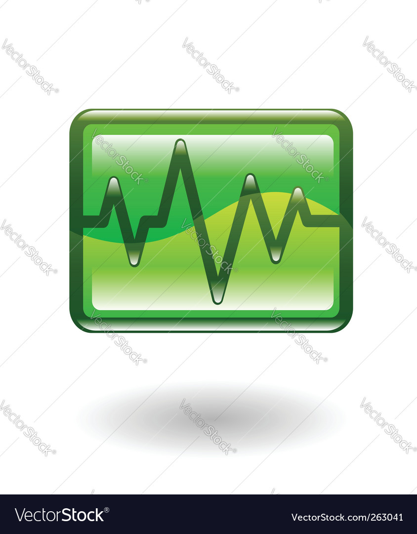 Heart beat illustration vector | Price: 1 Credit (USD $1)