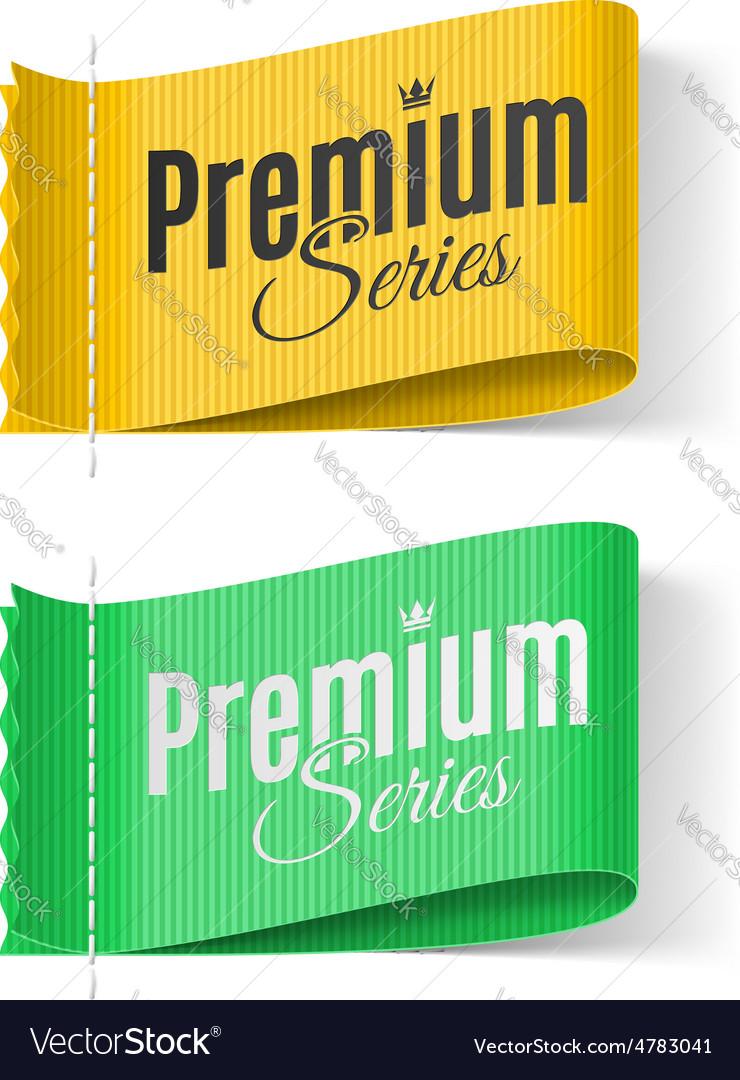 Labels premium series vector | Price: 1 Credit (USD $1)
