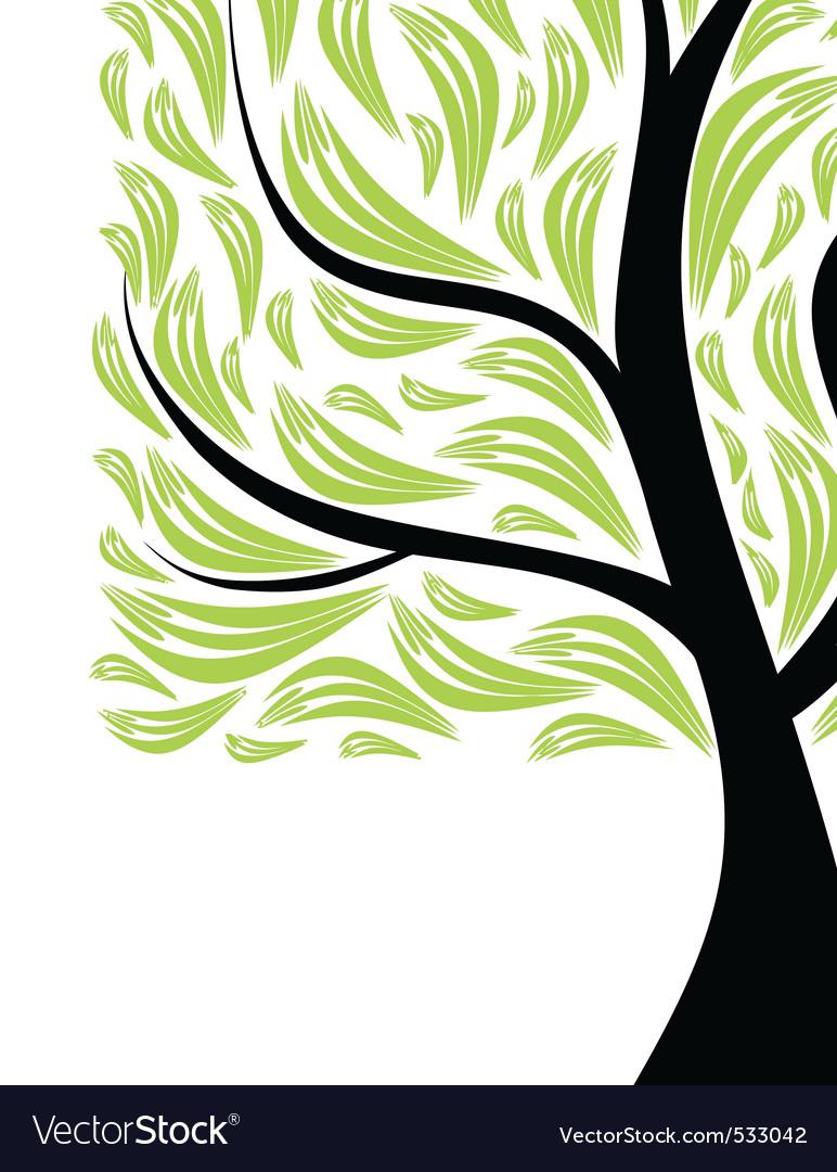 Beautiful art tree vector | Price: 1 Credit (USD $1)