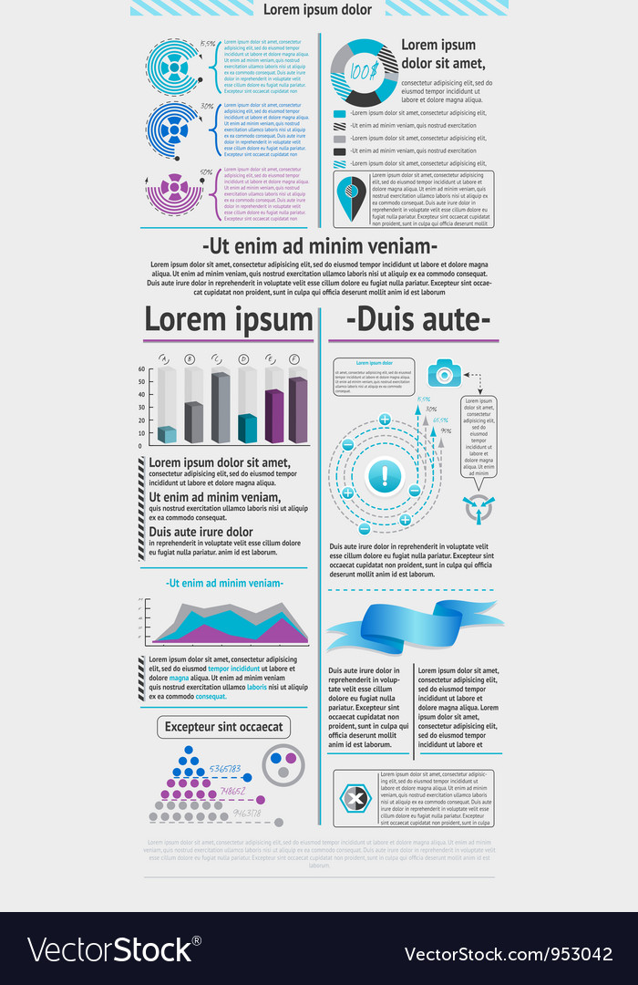 Elements of infographic vector | Price: 1 Credit (USD $1)