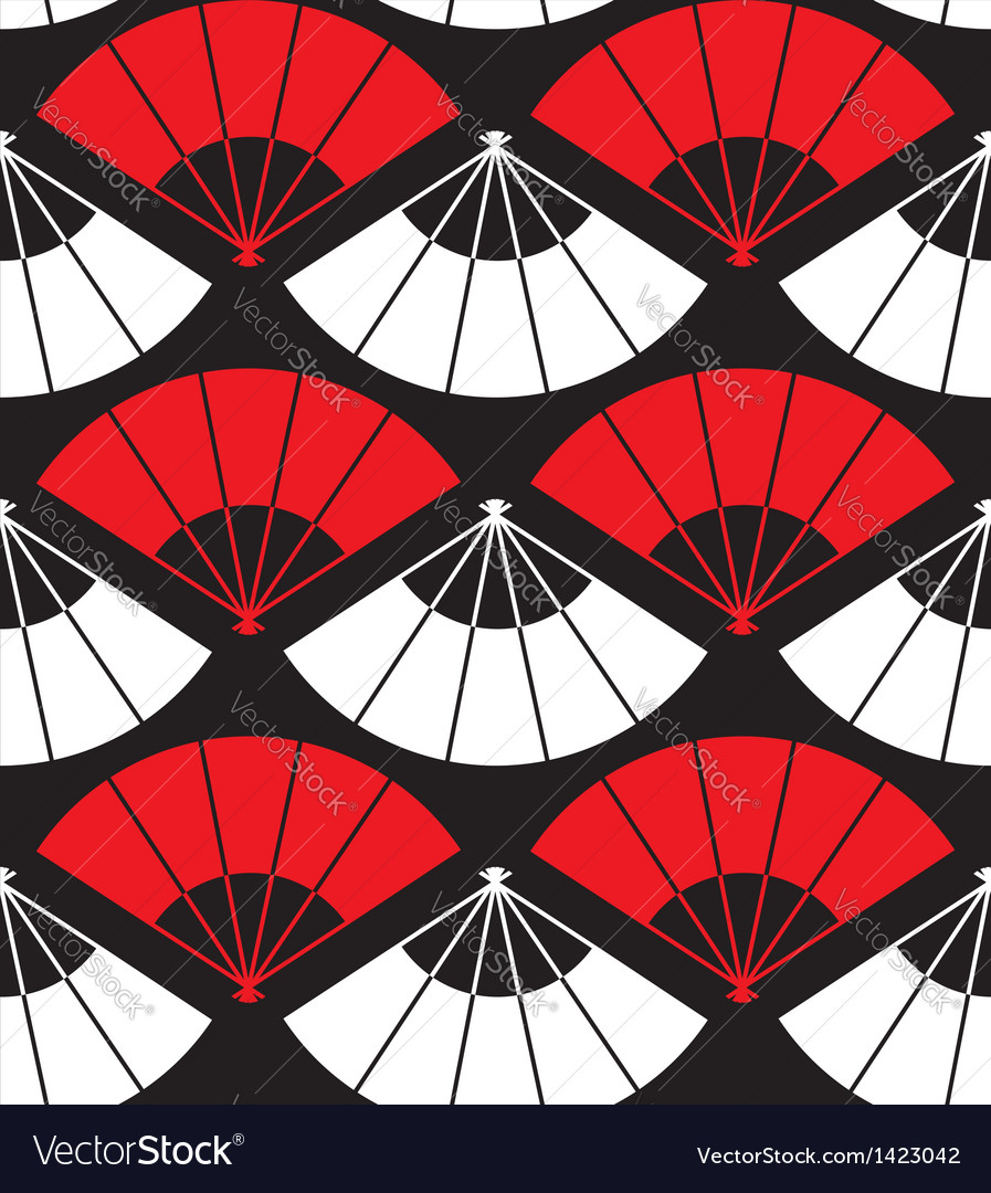 Japan fan abstract background vector