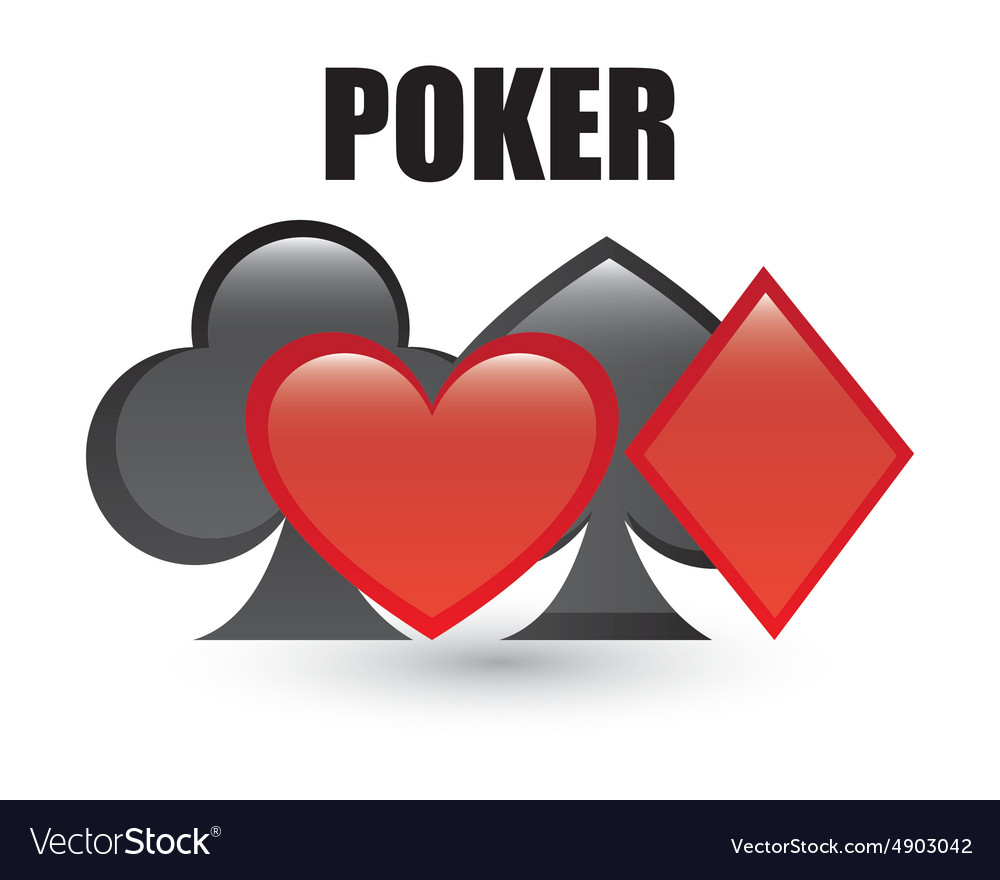 Poker game vector