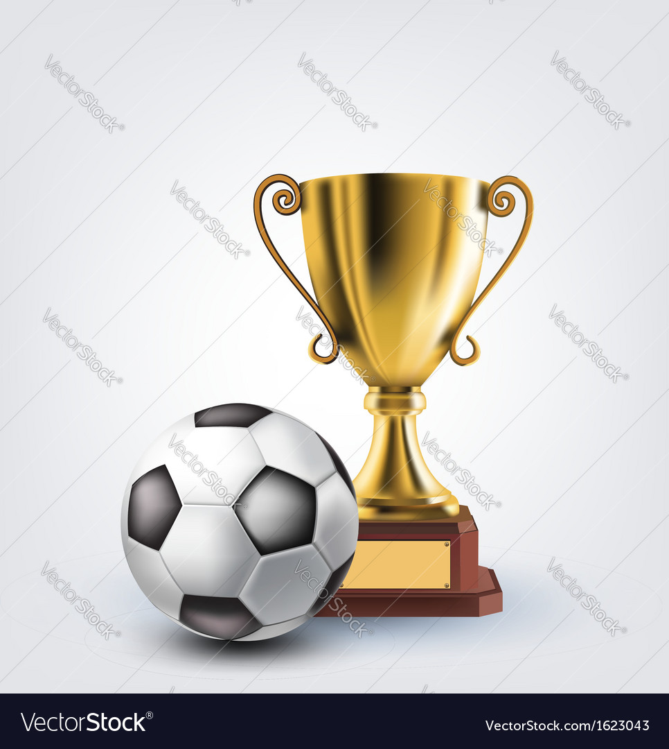 Ball and trophy vector   Price: 1 Credit (USD $1)