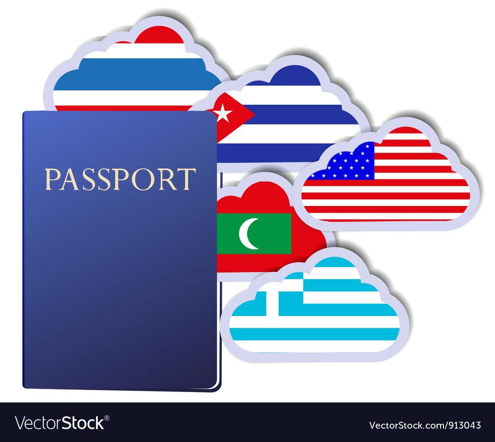 Passport vector | Price: 1 Credit (USD $1)