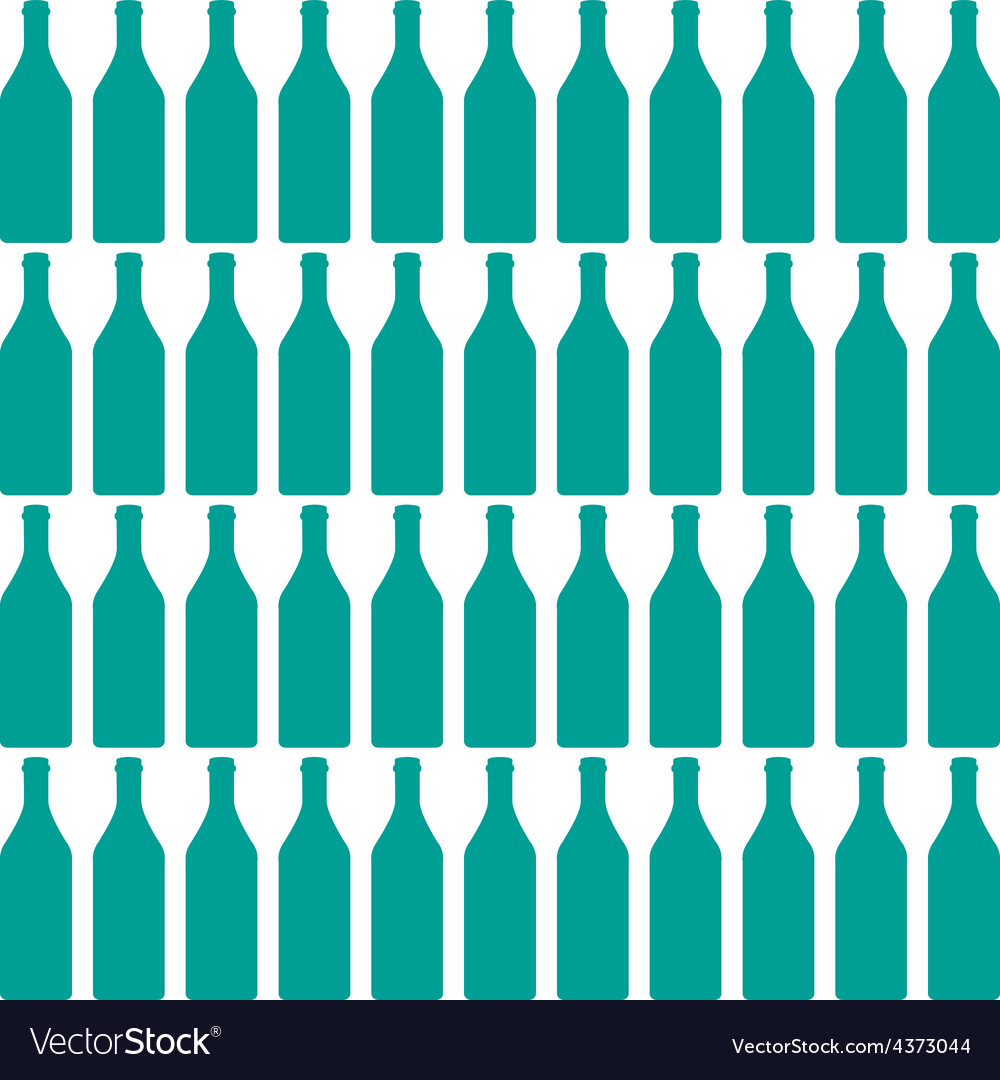 Bottle silhouette vector | Price: 1 Credit (USD $1)