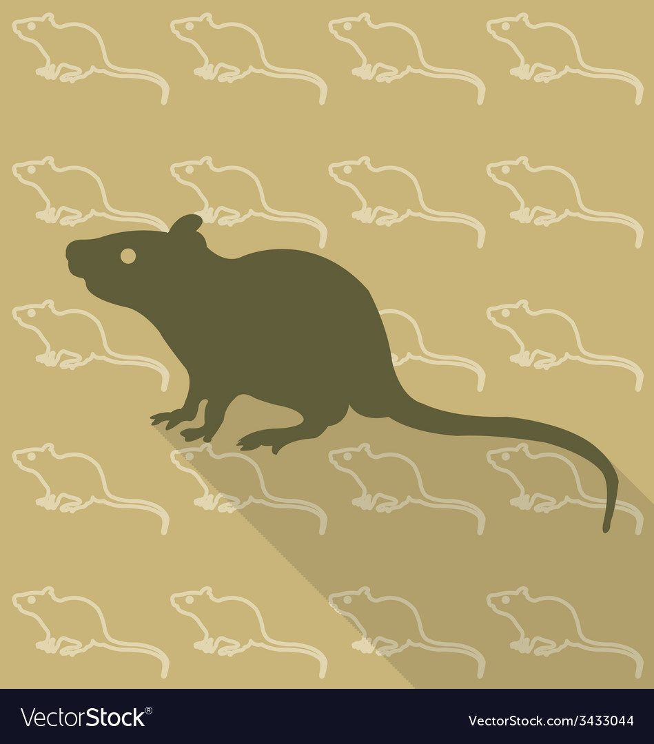 Rat vector | Price: 1 Credit (USD $1)