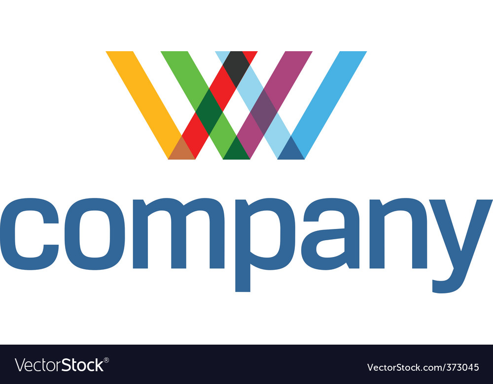 Www colorful logo vector | Price: 1 Credit (USD $1)