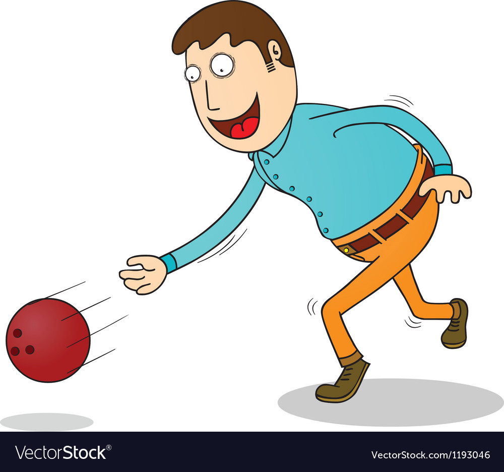 Bowling time vector | Price: 1 Credit (USD $1)