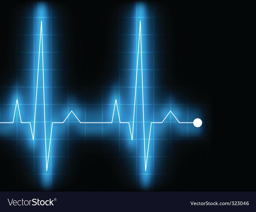 Electrocardiogram ecg vector   Price: 1 Credit (USD $1)