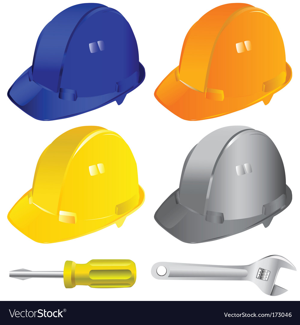 Hard hat vector | Price: 1 Credit (USD $1)