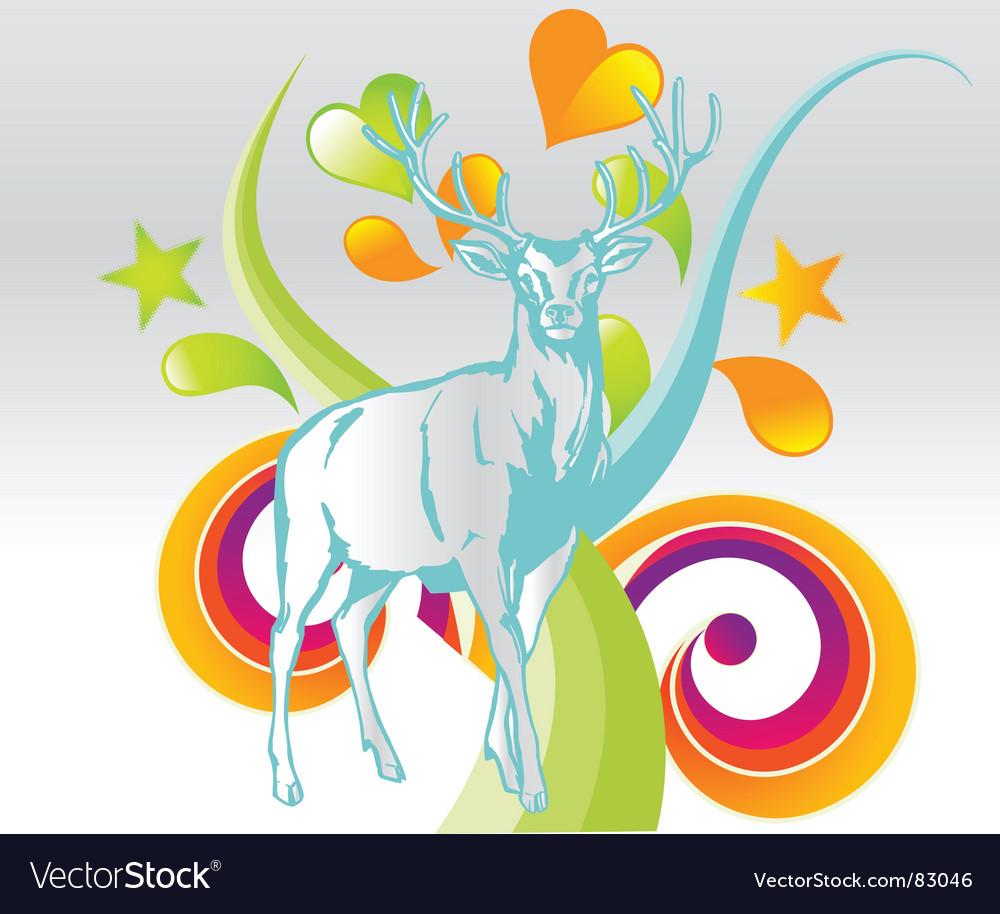 Wildlife background vector | Price: 1 Credit (USD $1)