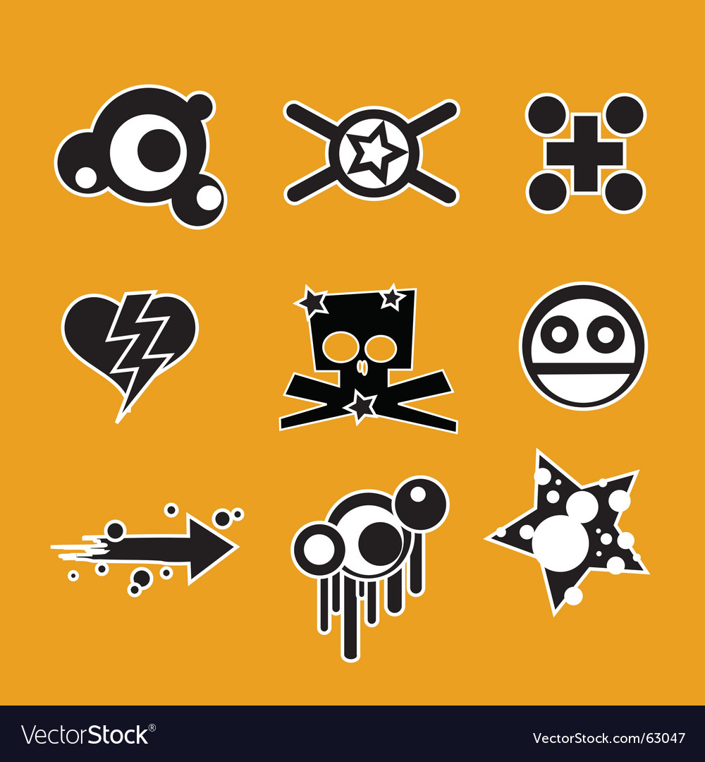 Crazy graphics vector | Price: 1 Credit (USD $1)