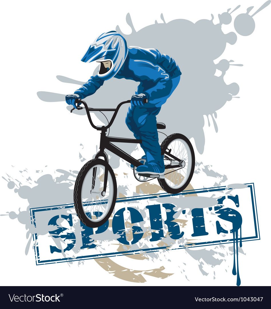 Cycle racing vector | Price: 1 Credit (USD $1)