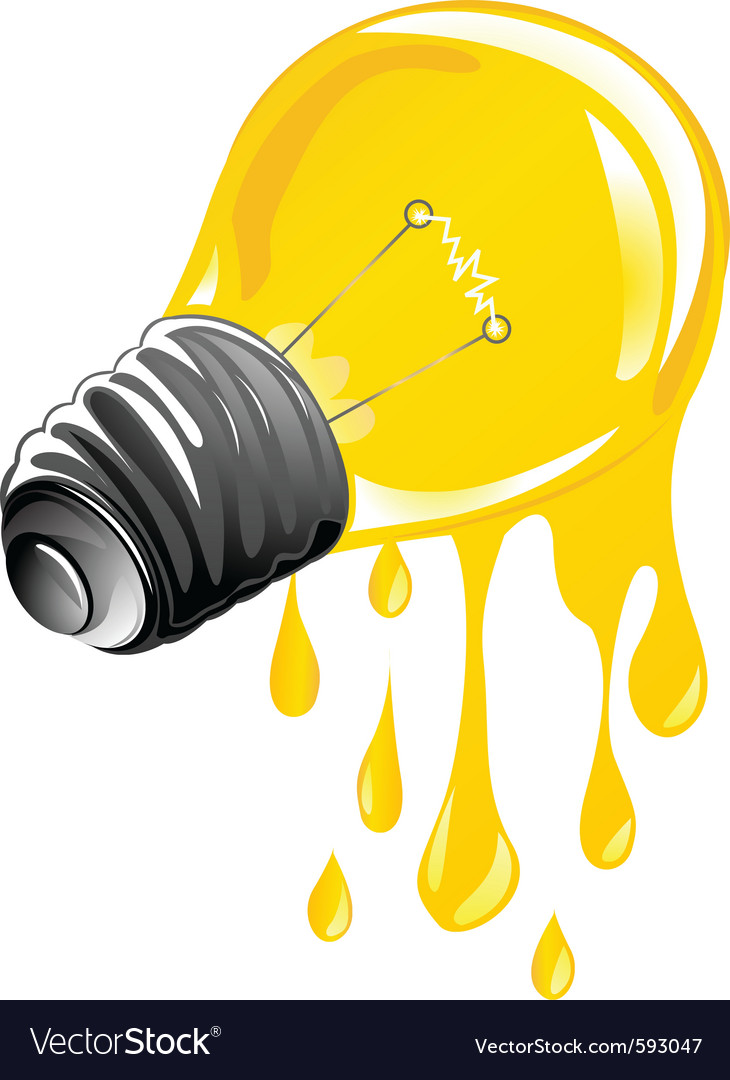Dripping energy light vector | Price: 1 Credit (USD $1)