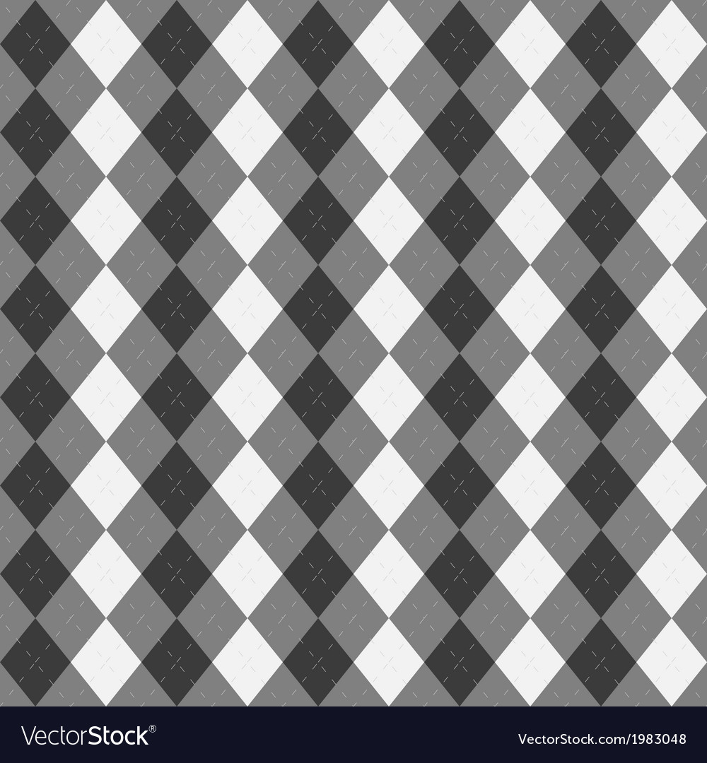 Argyle abstract pattern background vector | Price: 1 Credit (USD $1)