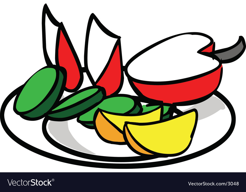 Delicious fruits vector | Price: 1 Credit (USD $1)
