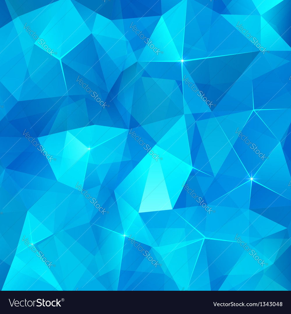 Ice cubes abstract background vector