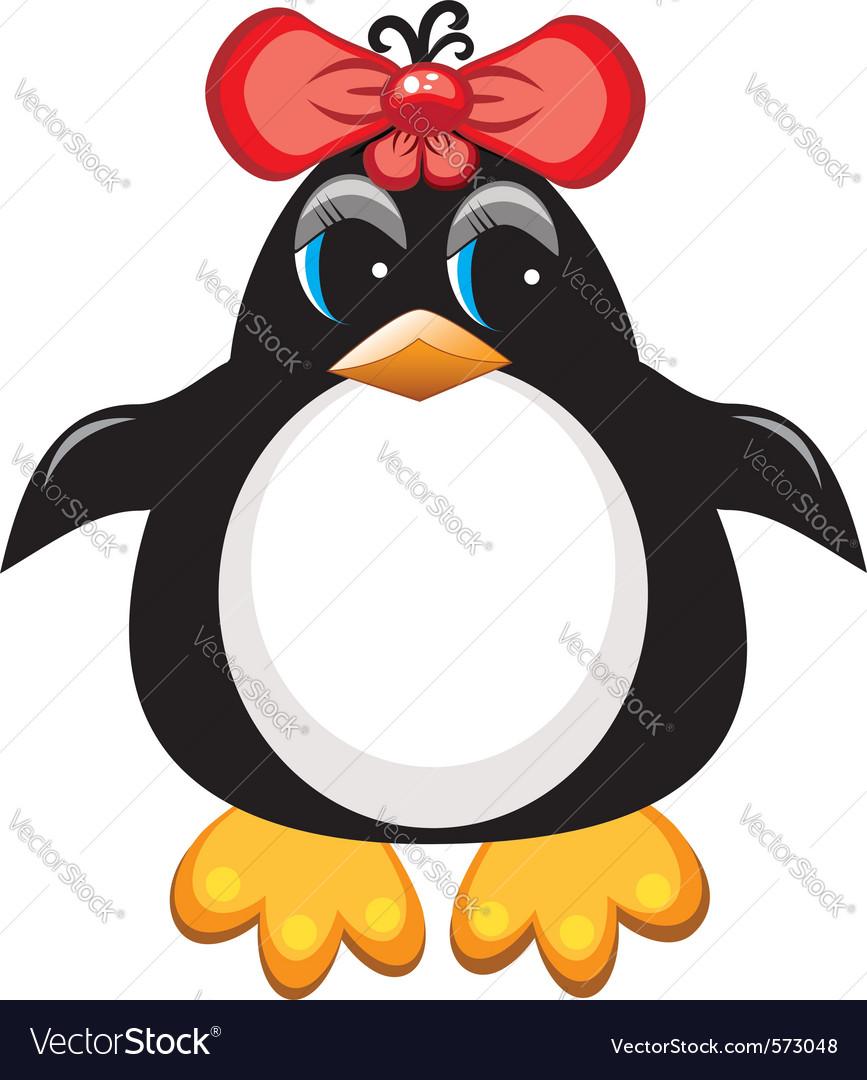 Penguin cartoon vector | Price: 1 Credit (USD $1)